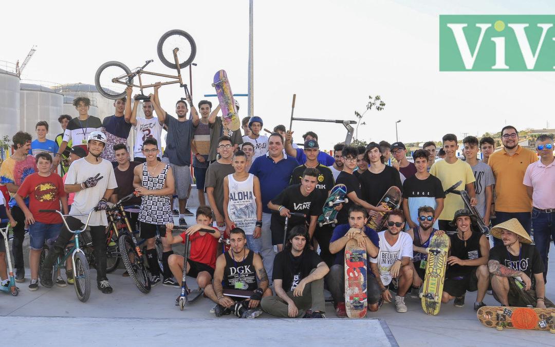 Inauguración del Skate Park más grande de la provincia