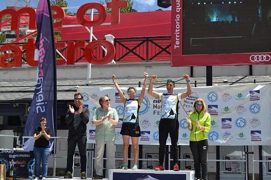 """Silvia Lara, campeona de Andalucía de """"Kilómetro Vertical"""""""