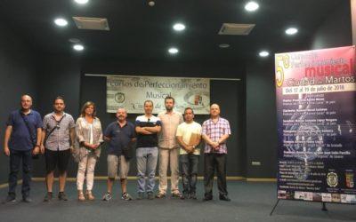 Músicos de toda la provincia se citan en Martos para perfeccionar su técnica