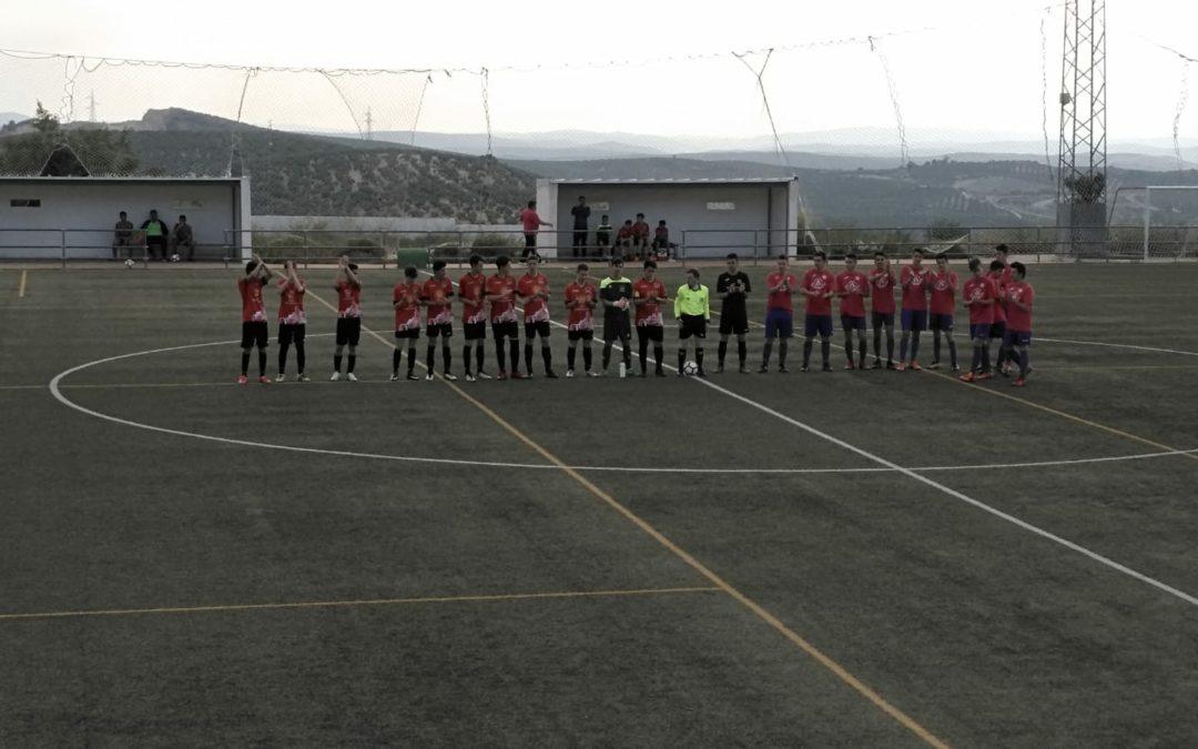 El Atlético de Jamilena disputaba el último partido de liga