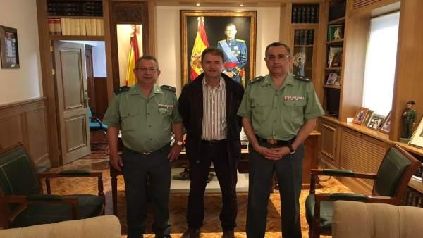 Villanueva de la Reina negocia recuperar el cuartel de la Guardia Civil para residencia de ancianos