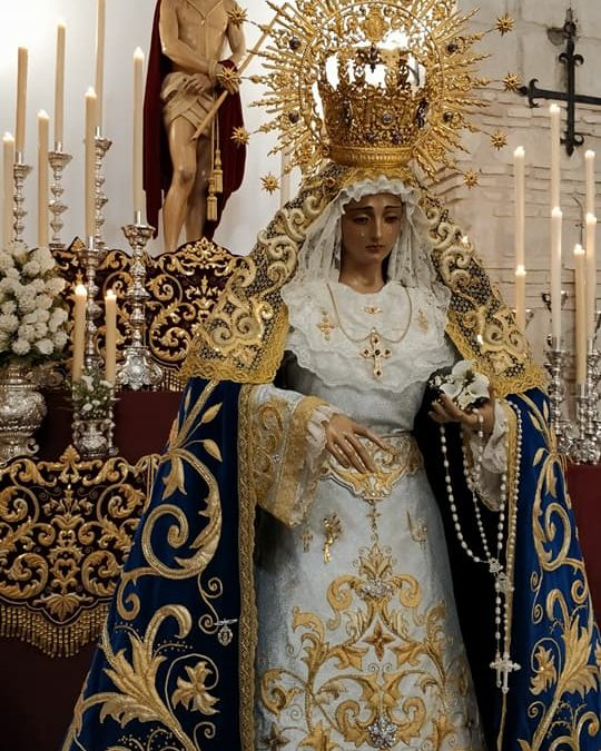 Moisés Montoya, presidente electo de la Hermandad y Cofradía de Nazarenos del Santísimo Ecce Homo y María Santísima de la Amargura de Torredonjimeno