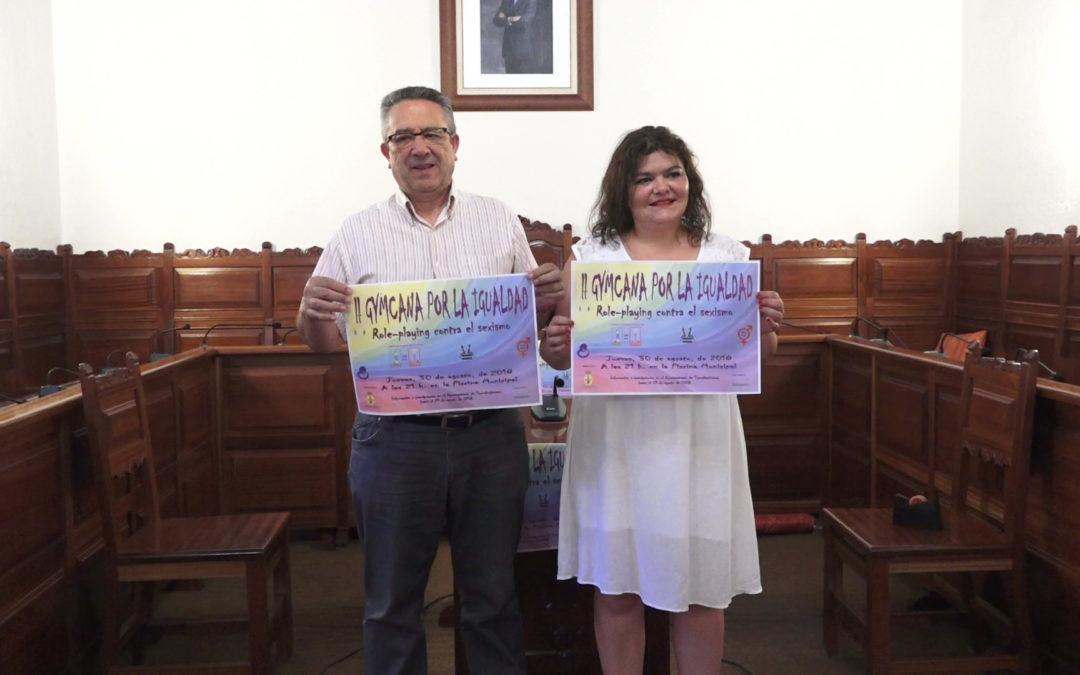 El Ayuntamiento de Torredonjimeno organiza una gymkana por la igualdad