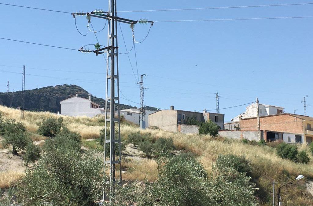 Endesa finaliza las obras de soterramiento de tendido eléctrico en el centro urbano