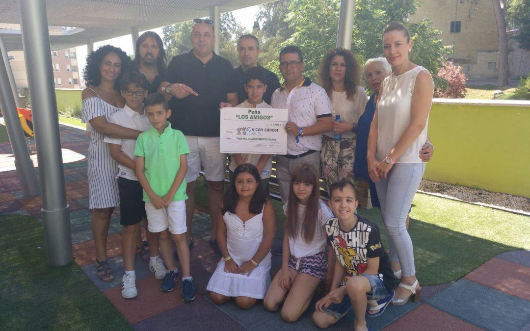 Donación para los niños con cáncer