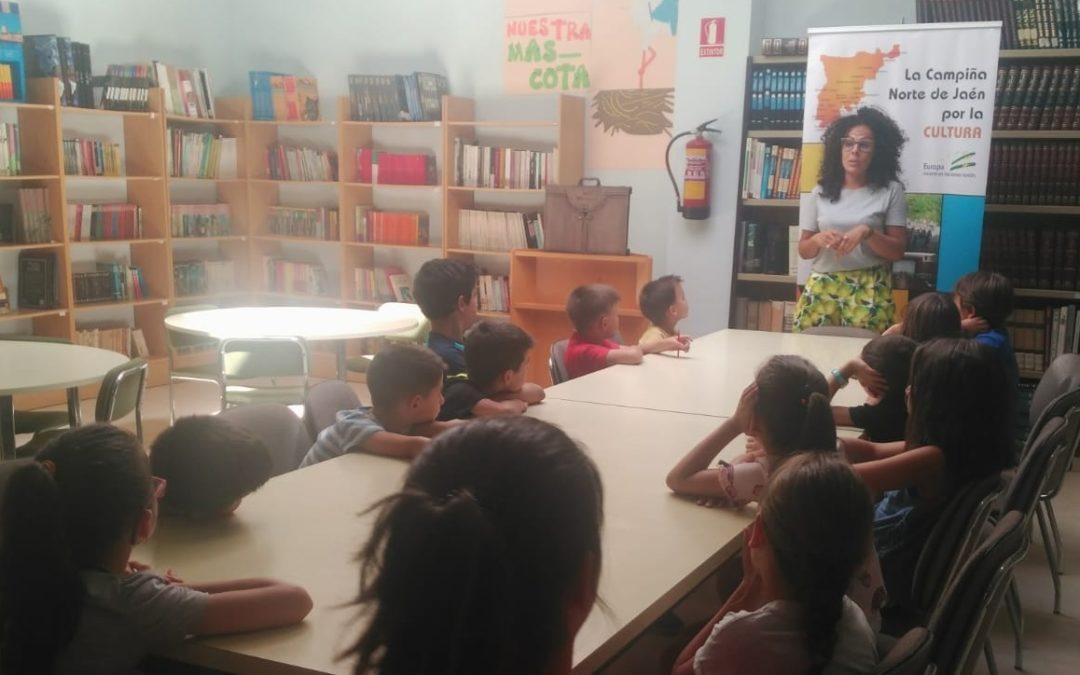 Villanueva de la Reina participa en el Proyecto Educativo de PRODECAN