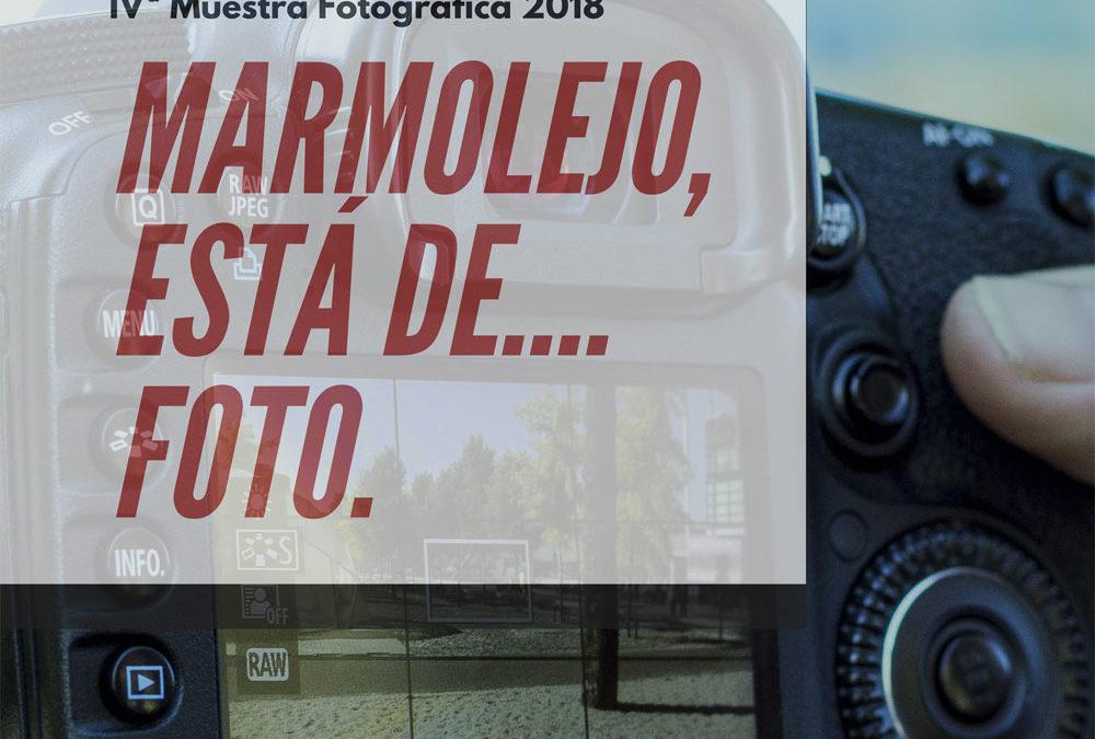 """Abierto el plazo para participar en la exposición """"Marmolejo está de foto"""""""
