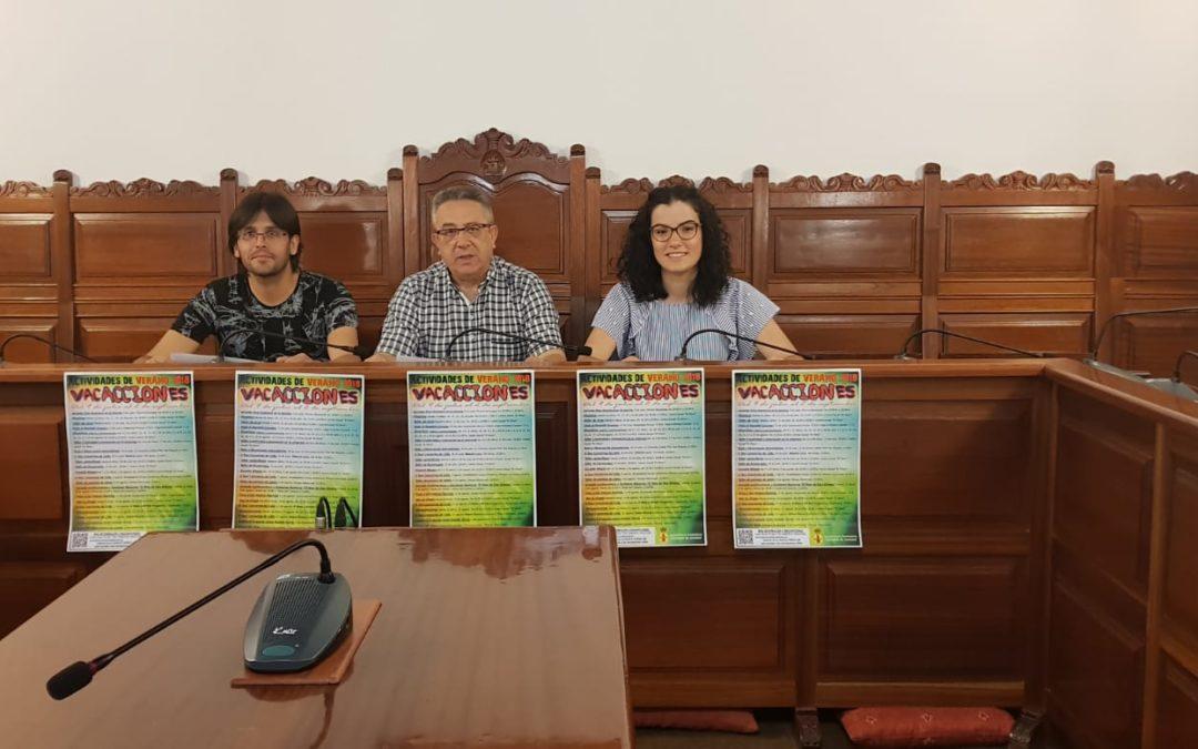 El Ayuntamiento de Torredonjimeno presenta un amplio programa cultural y de ocio para julio y agosto