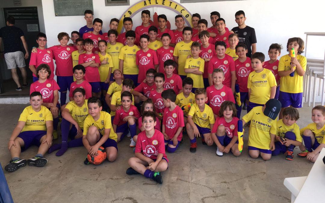 VI Convivencias C.D. Atletico de Jamilena el pasado 17 de junio