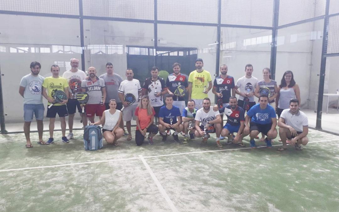 """Todo un éxito el II Torneo de pádel """"Ciudad de Arjona"""""""
