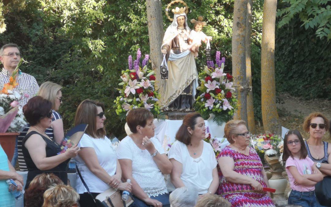 La Bañizuela acoge un año más la eucaristía en honor a la Virgen del Carmen