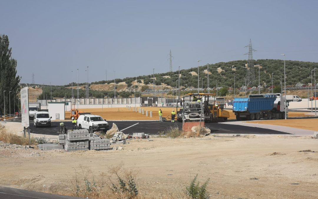 El recinto ferial se encuentra ya en su última fase de ejecución