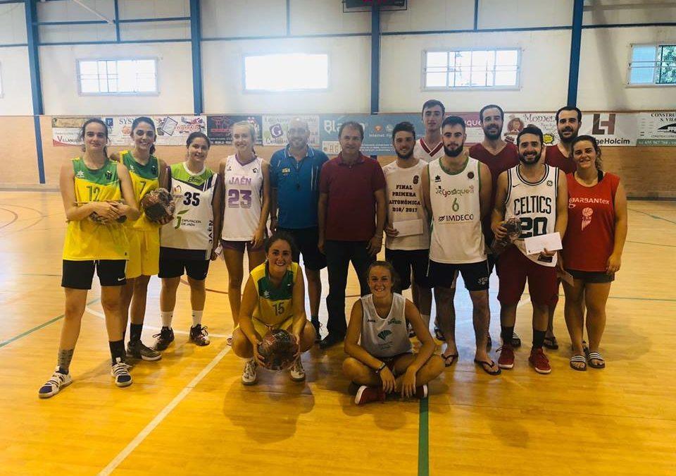 Gran participación en el 3×3 de Baloncesto de Villanueva de la Reina