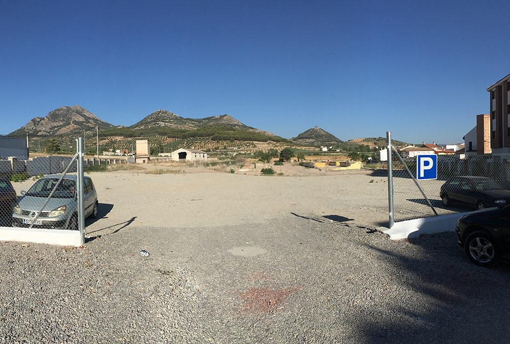 Habilitado un nuevo aparcamiento en la Avenida de Andalucía
