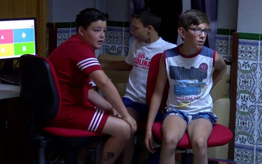 Juego de preguntas y respuestas en una Gymkana Digital para niños y niñas en el Guadalinfo de Jamilena