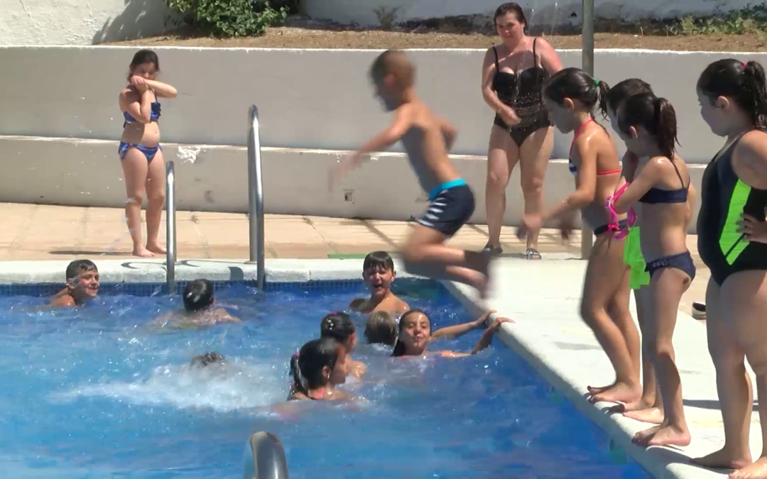 Cambio de fecha para el curso de natación en la Piscina Municipal de Jamilena