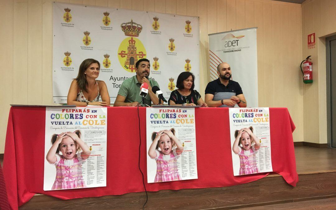 La Asociación de Empresarios y Comerciantes de Torredonjimeno organiza una campaña para la vuelta al cole