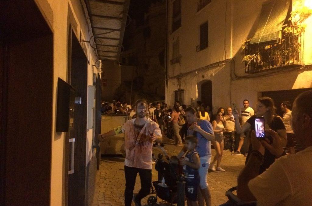 Los zombies invadieron las calles de Martos