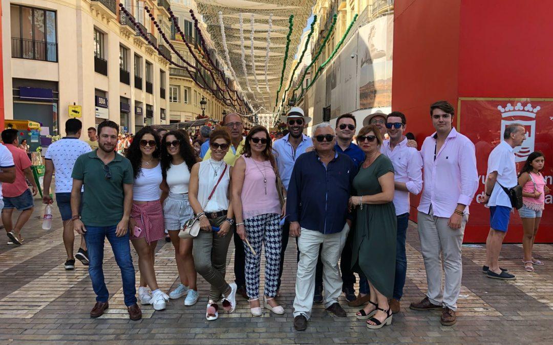 Jornada de convivencia taurina en Málaga