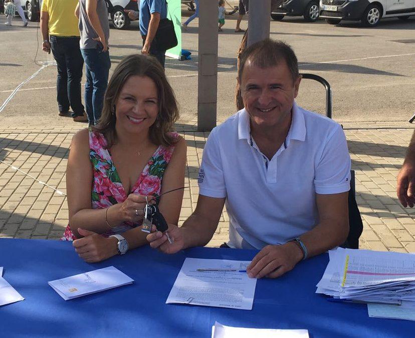 Villanueva de la Reina cuenta con un nuevo vehículo subvencionado por la Junta