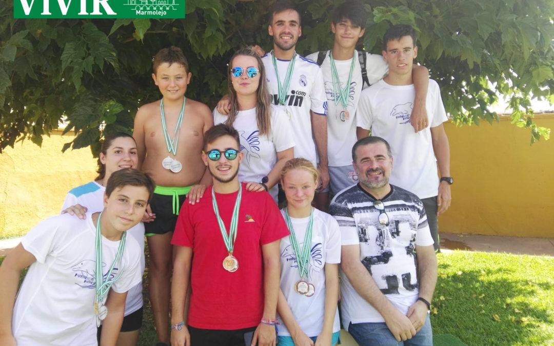 Marmolejo acoge la quinta jornada del circuito provincial de natación