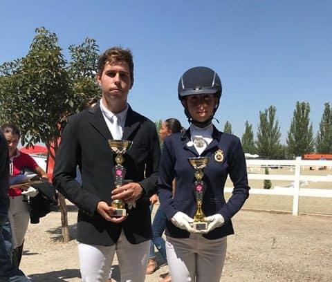Dos andujareños triunfan en el Concurso Nacional de Doma Clásica de Granada