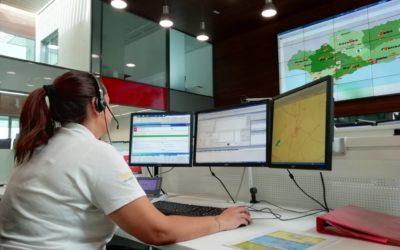 Emergencias 112 en Jaén gestiona 293 avisos durante el fin de semana previo al festivo del 15 de agosto
