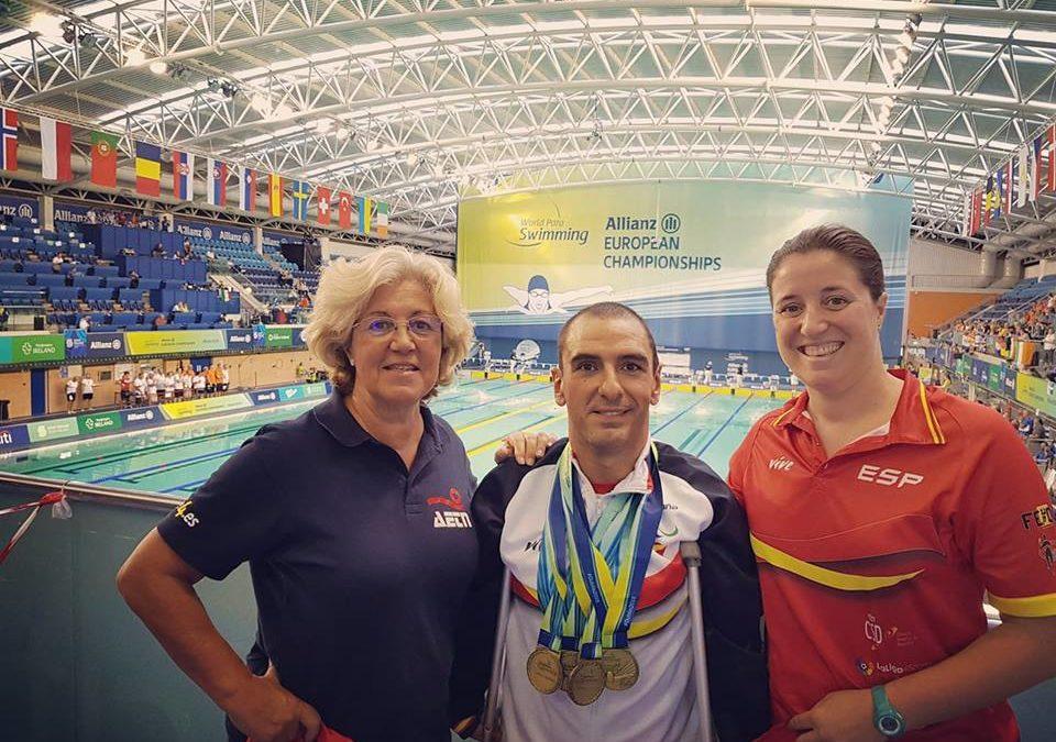Martínez Tajuelo conquista Dublín con un total de cuatro bronces