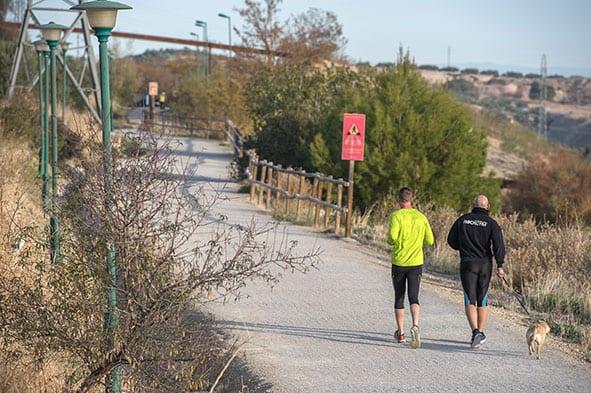 Diputación arreglará 100 farolas de la Vía Verde este verano