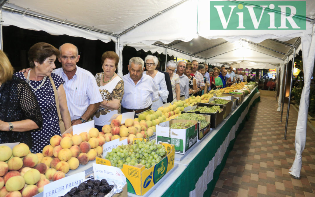 Inauguración de la Exposición Comarcal Hortofrutícola