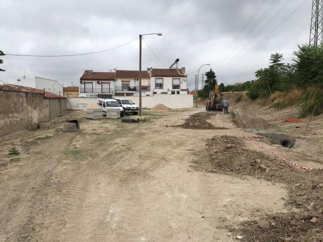 Obras de mejora en varias calles de la ciudad