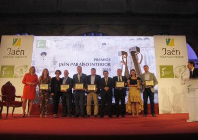 20180927 Premios Jaén, paraíso interior - premio ADR