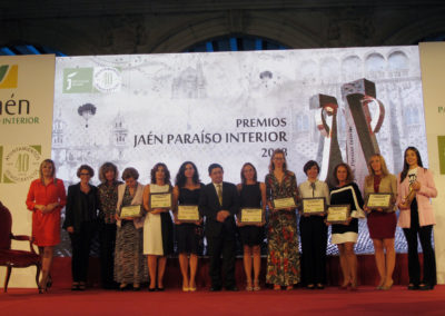 20180927 Premios Jaén, paraíso interior - premio mujeres AOVE