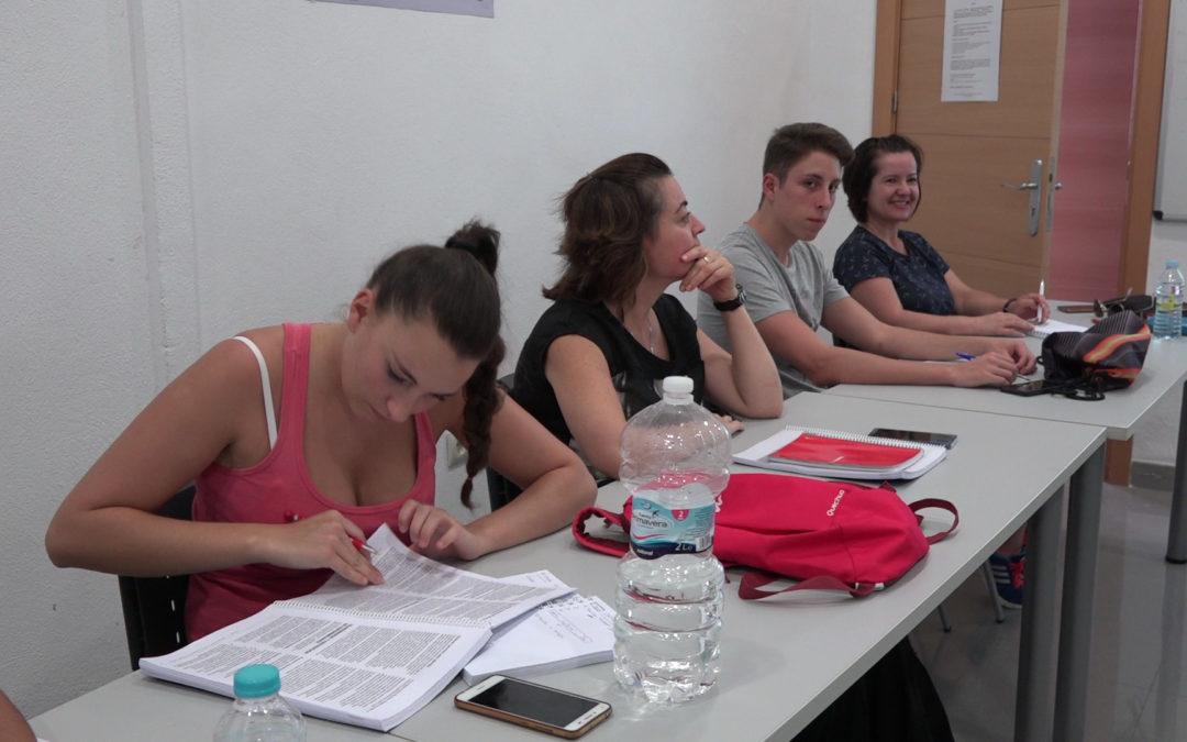 Los alumnos del curso de primeros auxilios ya han comenzado sus clases