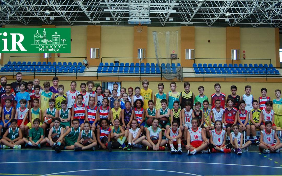 Marmolejo se convierte en sede permanente de las selecciones provinciales de baloncesto