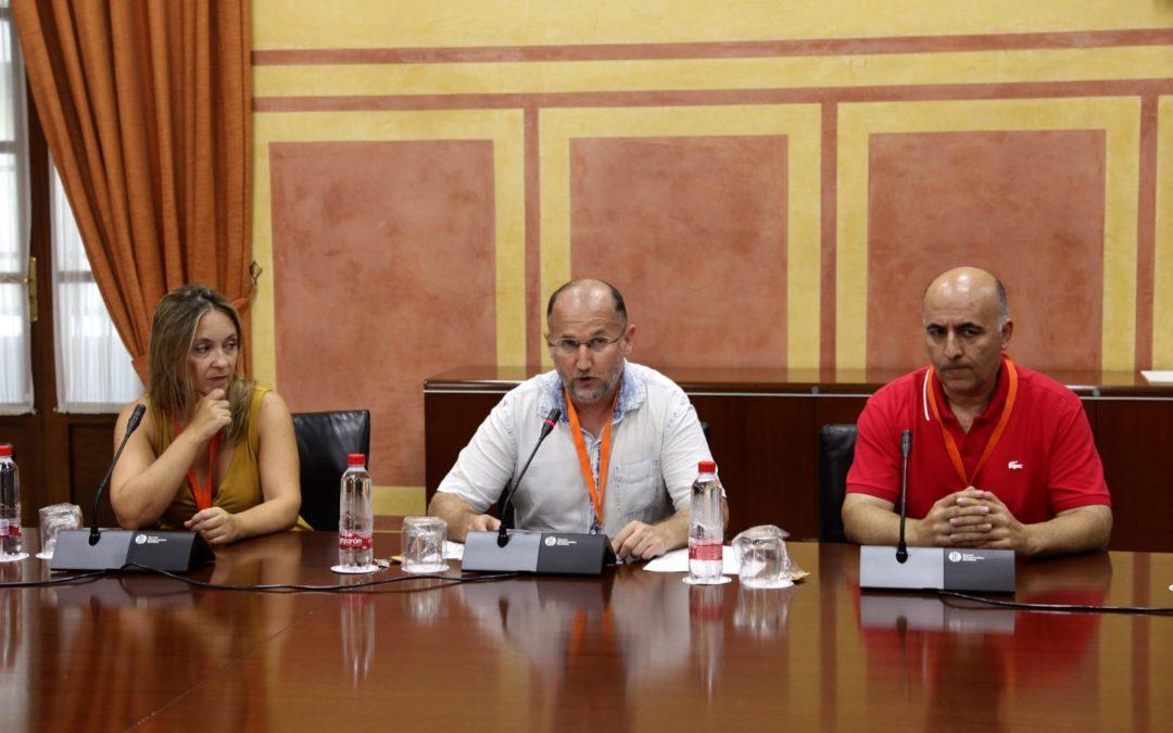 El marmolejeño Antonio Lara participa en la elaboración de la ley de juventud en el parlamento andaluz