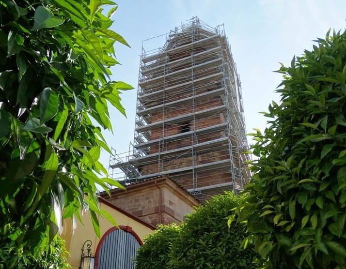 Culminan los trabajos de restauración de la torre de San Miguel