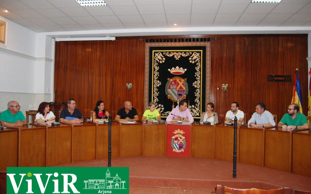 Aprobados en pleno los presupuestos municipales de Arjona para 2019
