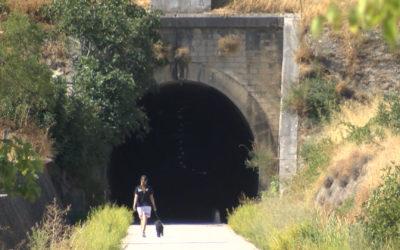 La iluminación del túnel de la vía verde objeto de actos vandálicos