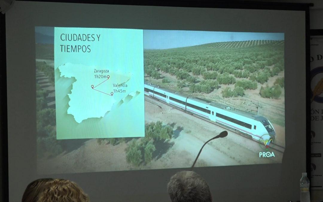 """La Asociación de Empresarios y Profesionales PROA JAÉN ha presentado el audiovisual """"Jaén Transiberiano"""""""