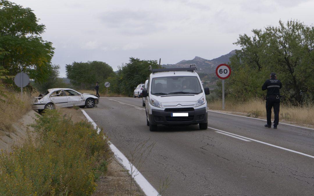 Accidente a la salida de Torredonjimeno