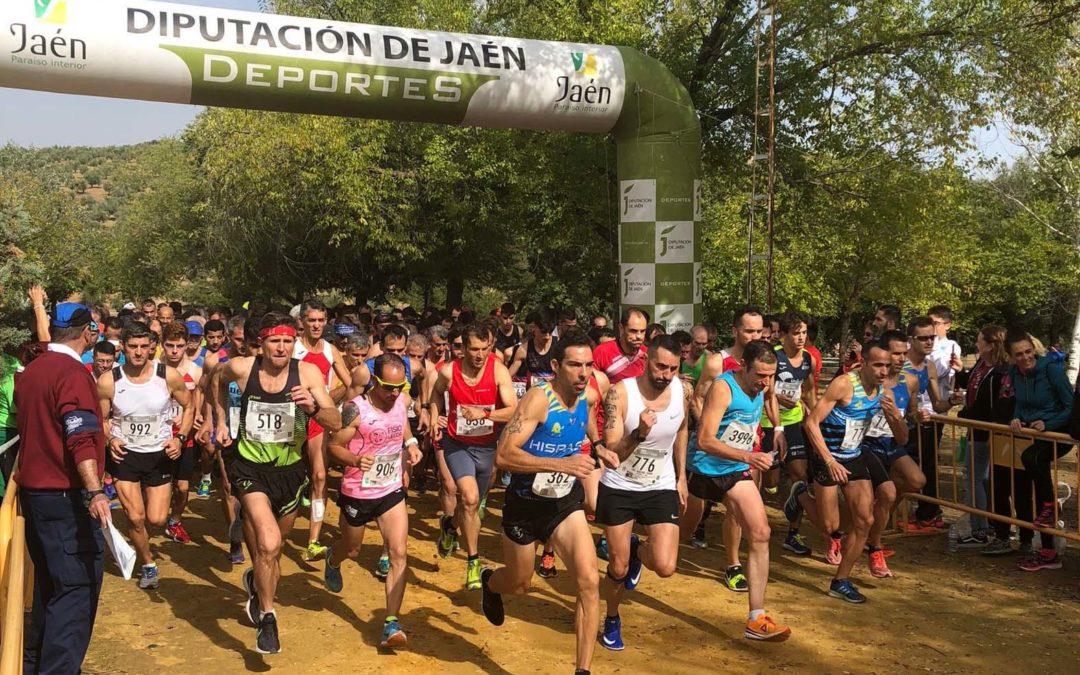 Alrededor de 800 atletas participan en la octava edición del Campo a Través Castillo de Lopera