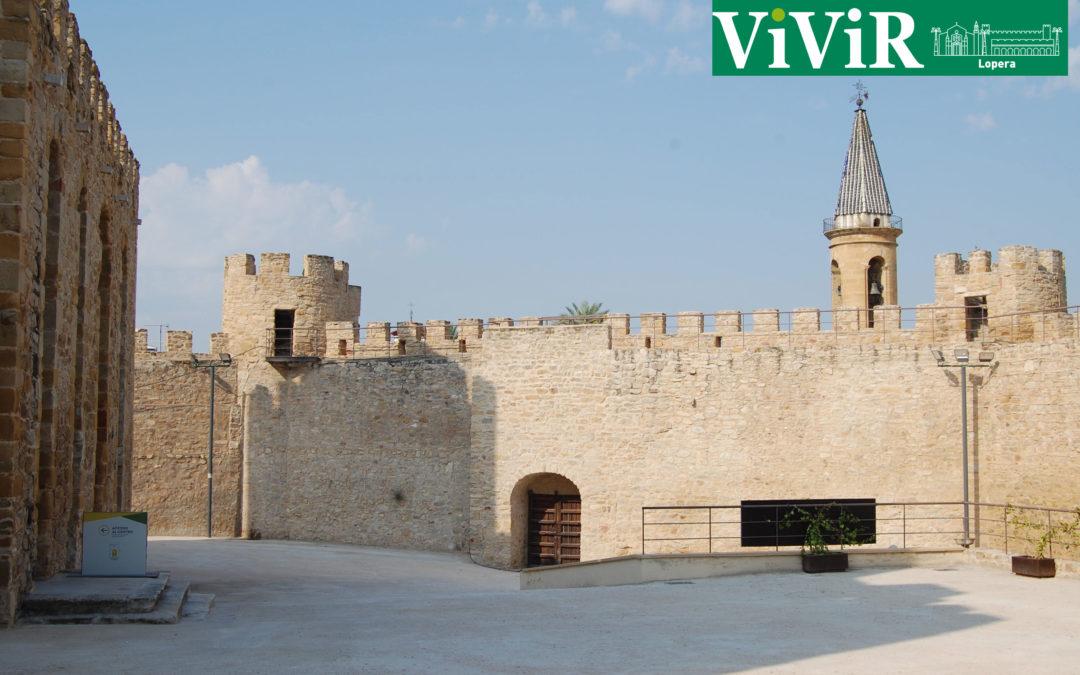 El Castillo de Lopera parada del recorrido turístico del encuentro internacional de comercialización de turismo de Interior, Rural y Naturaleza