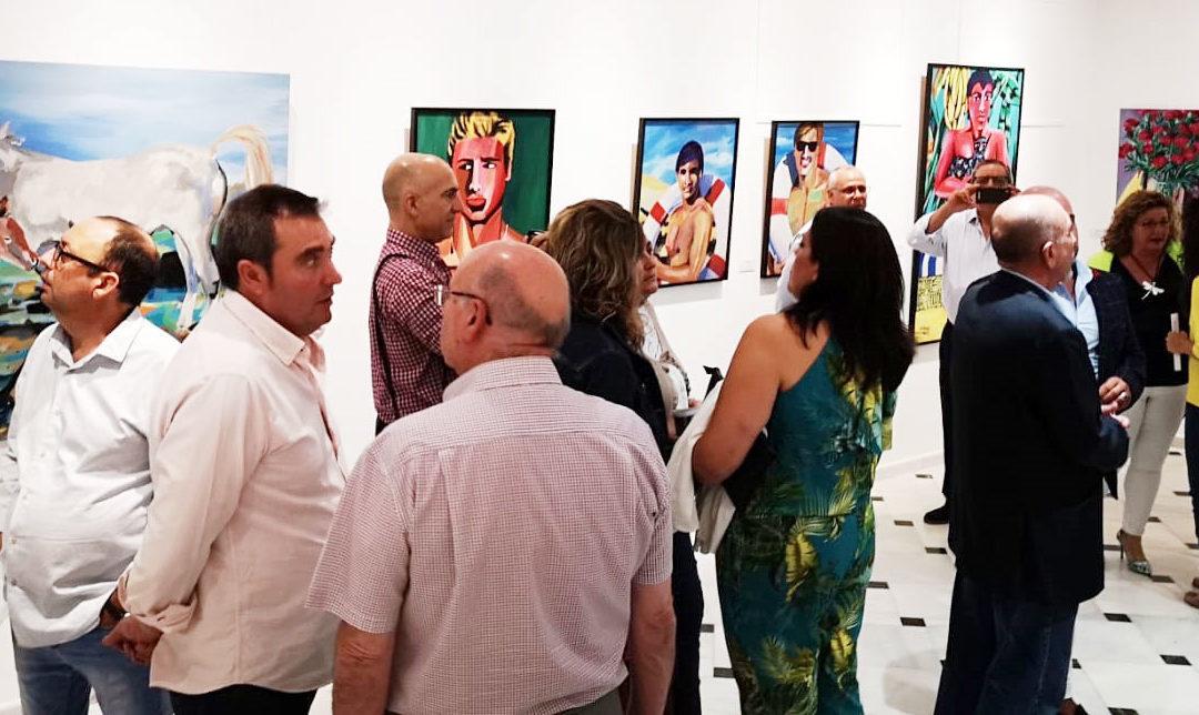 """Arjona abre su """"Otoño cultural"""" con una conferencia y exposición de los pintores """"Costus"""""""