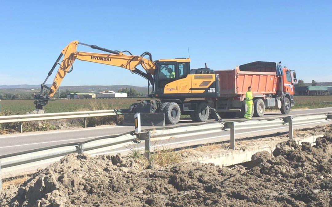 Obras de mejora y acondicionamiento en el cauce del Arroyo del Encantado