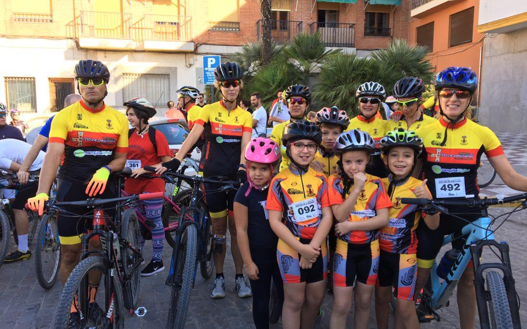 500 personas celebran el Día de la Bicicleta en Torredonjimeno