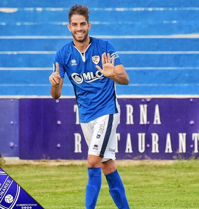 El Linares Deportivo supera al Atarfe conhattrick de Javi Bolo