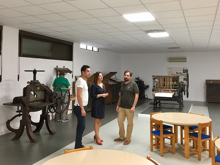 Musealización de la imprenta de Martín Rey