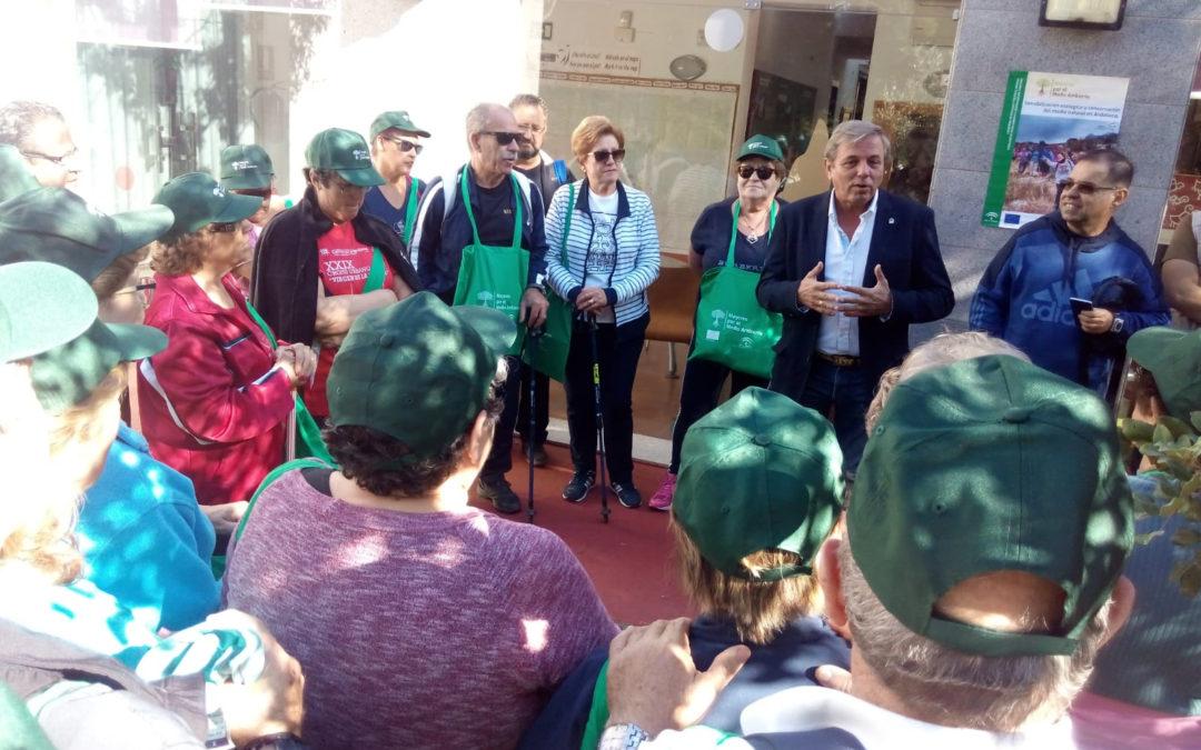 Los mayores de Andújar participan en los talleres de educación ambiental de la Junta