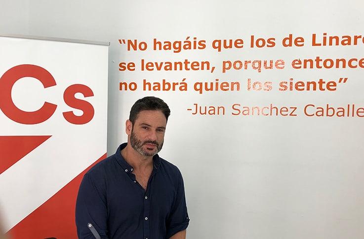 Ciudadanos pide a Francisco Reyes que abandone la demagogia con Linares y evite implicar a la ciudad en sus luchas partidistas